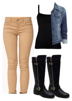 """""""Untitled #197"""" by babbieedee on Polyvore featuring Forever 21, Hudson Jeans and Jacobies"""