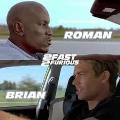 Brian & Roman    Follow @fast.furious.saga    #vindiesel #paulwalker #forpaul #michellerodriguez #dwaynejohnson #therock  #fastsaga #fastfamily #fastfranch... - FAST AND FURIOUS GALLERY (@fast.furious.saga)