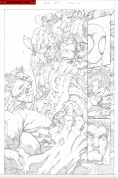 Kwan Chang :: For Sale Artwork :: Avenging Spider-Man # 2 by artist Joe Madureira