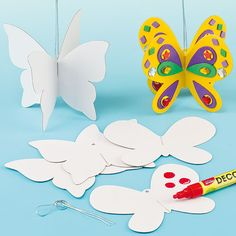 3D Butterfly Hanging Decorations