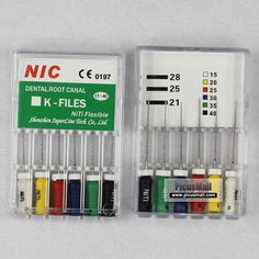 NIC Hand use NITI K file #15-40,21mm - Superline - File & Reamer - PicusMall