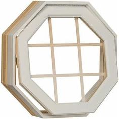 Octogon Windows Venting Vinyl Octagon Windows