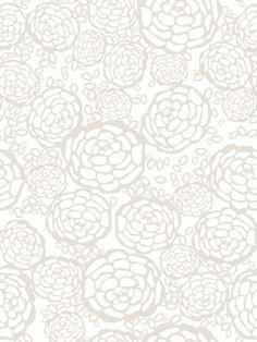 Hygge & West- Petal Pusher Removable Wallpaper tile designed by Joy D. Kitchen Wallpaper, Bathroom Wallpaper, Of Wallpaper, Removable Wallpaper For Renters, Hygge, Wallpaper Companies, Petal Pushers, White Tiles, Tile Design