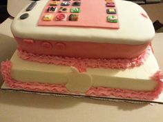 The iphone cake I made my granddaughter.