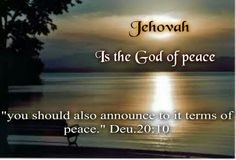 Deuteronomy 20:10 Peace Of God, Gods Creation, Old Testament, Heart And Mind, Jehovah, Bible Scriptures, Numbers, Journey, Texts