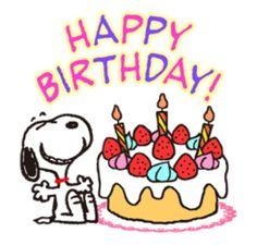 Happy birthday Snoopy