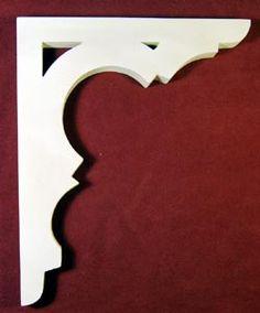 Artículo # B-61 Victorian Porche Soporte El Woodshop Victorian http://victorianwoodshop.com