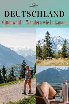 Wandern in Mittenwald - Geniale Ausblicke & romantische Bergseen! Sometimes you don't have to make a great effort to have a great view while hiking! We were hiking in Mittenwald and climbed Travel Log, Outdoor Travel, Places To Travel, Places To See, Travel Goals, Great View, Germany Travel, Vacation Destinations, Hiking Trails