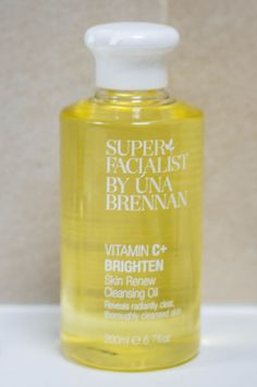 Una Brennan Cleansing Oil. Reasonably priced and is the first step in my nightly double cleanse.