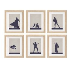 Set of 6 Star Wars Character Of Your Choice by SealDesignStudio, $57.00