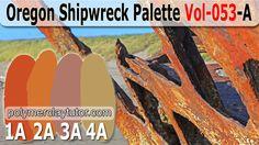 Oregon Shipwreck Color Palette by Polymer Clay Tutor http://www.beadsandbeading.com/blog/oregon-shipwreck-palette-premo-recipes-vol-053-a/16152/