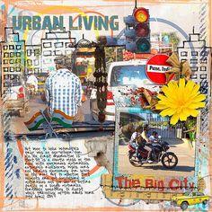 Urban Living Supplies: Courtneys Digiscrappin: Urban Scape Fonts: Pea BethC, Piedra