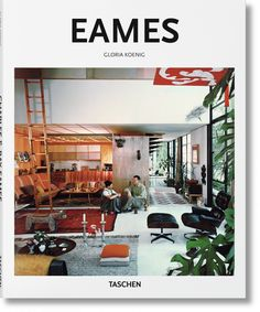 Eames | The creative duo Charles Eames (1907–1978) and Ray Kaiser Eames (1912–1988) transformed the visual character of America. Though best known for their furniture, the husband and wife team were also forerunners in architecture, textile design, photography, and film. | #bestinteriordesignbooks #coffee table book #book review | See more at: www.bestdesignbooks.eu