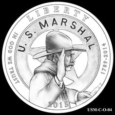 2015 US Marshals Service Commemorative Coin Design Candidates