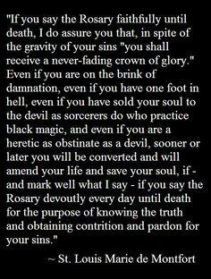 Please pray the Rosary!