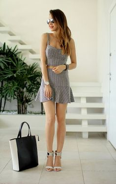monochrome crop top , two piece dress, oh boy, zara, shoes