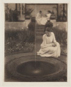 Fountain by Clarence Hudson White, 1907