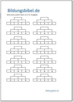 83 best mathe 3. klasse images on Pinterest | Teaching math, Numbers ...