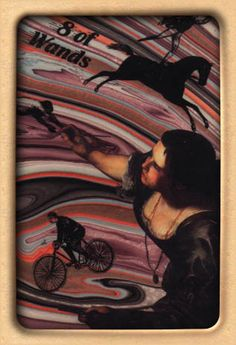 The Artist's Inner Vision Tarot. Eight of Wands.