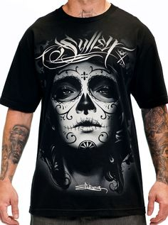 "Men's ""My Love"" Tee by Sullen Clothing (Black)"