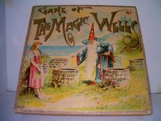 The Magic Wells R. Vintage Board Games, Wizards, Wells, Bliss, Magic, Painting, Ebay, Art, Art Background