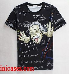Albert Einstein full print shirt two side