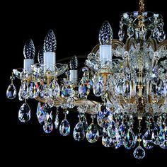 Maria Theresa Chandeliers by ArtGlass Lighting #MariaTheresaChandelier #Chandelier