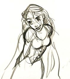 Glen Keane is a legend for a reason. He's been the lead character designer on more Disney movies that most people can probably name, and his work is just beautiful. More than anything else, his ability to tell a story with so few lines is staggering. His quick sketches have more personality than some actual people I've known.