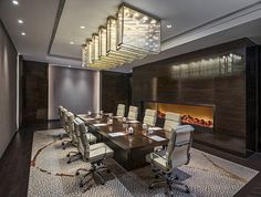 The Ji Xue meeting room at The Grand Mansion, A Luxury Collection Hotel, Nanjing by HBA Design.