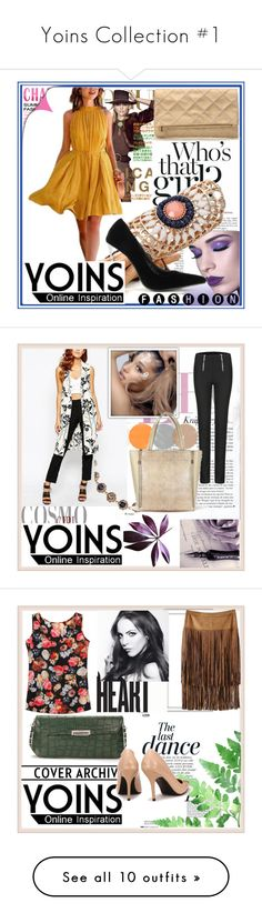 """Yoins Collection #1"" by damira-dlxv ❤ liked on Polyvore featuring MustHave, autumn, fall2015, yoins, Anja, Dot & Bo, KAROLINA, Wet Seal, vintage and ASOS"