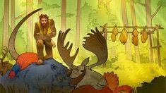 Interactive Stories, A Beast, Figure It Out, Elk, The Magicians, Dragon, Creatures, Fandoms, King