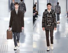 Louis Vuitton FW 2015 Menswear Collection Pays Tribute To Christopher Nemeth