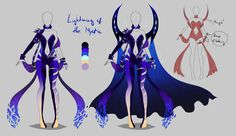 Outfit design - Lightning of the Mystic - closed by LotusLumino on DeviantArt
