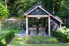 Luxury garden room with storage, Uddel 12 - Luxury garden room with storage, Uddel 12 - Outdoor Living Areas, Outdoor Rooms, Outdoor Gardens, Summer House Garden, Home And Garden, English Farmhouse, Backyard Patio Designs, Old Barns, Pool Houses