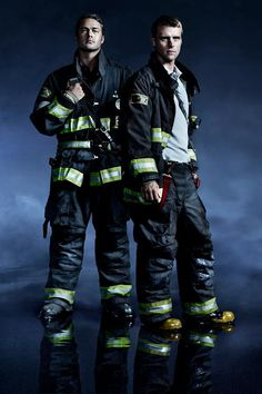 Chicago Fire: Severide and Casey suited up and ready for action. | Shared by LION