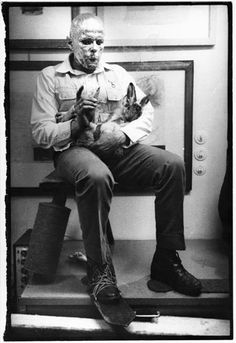 Explaining Pictures to a Dead Hare by Joseph Beuys