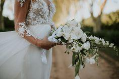 WEDDING   JP & Sulandi  FLOWERS   Tulips, hydrangeas, roses and orchids PHOTO   Maryke Albertyn Photography Lace Wedding, Wedding Dresses, Hydrangeas, Tulips, Bouquets, Orchids, Roses, Flowers, Photography