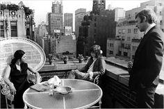 Alan J. Pakula, Donald Sutherland, Jane Fonda