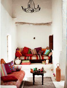 Rustic white vs Boho eclectic ~ Morocco