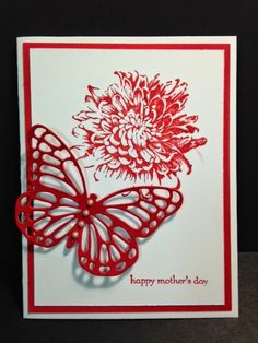 Blooming With Kindness, Mother's Day Card, Stampin' Up!, Rubber Stamping, Handmade Cards