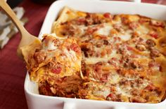 4 cheese lasagna. (Without ricotta)