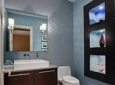 40 Half Bathroom Ideas That Will Impress Your Guests And Upgrade Your House Want to refresh your small bathroom decor? Here are Cute and Best Half Bathroom Ideas That Will Impress Your Guests And Upgrade Your House. Bathroom Remodel Pictures, Half Bathroom Remodel, Bath Remodel, Bathroom Remodeling, Remodeling Ideas, Bath Pictures, Half Bathroom Decor, Small Bathroom Layout, Bathroom Ideas