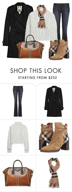 """""""Look what you've done to me"""" by nikita-rae ❤ liked on Polyvore featuring TEXTILE Elizabeth and James, Burberry, Bamford and Givenchy"""