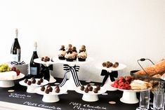 Godiva Truffle Flight | Truffle Tasting Party Inspiration | TheCakeBlog.com