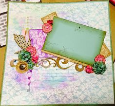Created by me. Scrapbook Designs, Scrapbooking Layouts, Page Layout, Mixed Media, Card Making, Paper Crafts, Inspirational, Projects, Cards
