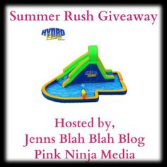 Enter to #Win The Summer HydroRush Waterpark #Giveaway | Jenn's Blah Blah Blog