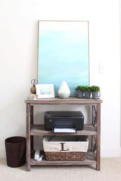 How to Declutter an Entire Room! My Organized Office | 30 Days to Less of a Hot Mess
