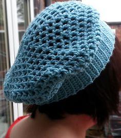 Free crochet pattern - Slouchy Hat