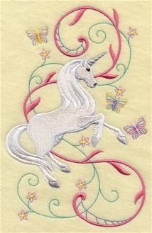 Machine Embroidery Designs at Embroidery Library! - Unicorn Fantasy