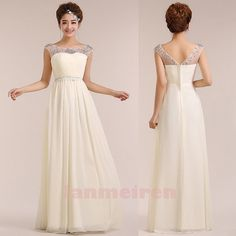 Long Prom Dresses Long Chiffon Prom Dresses Cheap by lanmeiren, $129.00